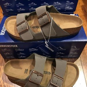 Birkenstock Arizona Birko floor Stone new